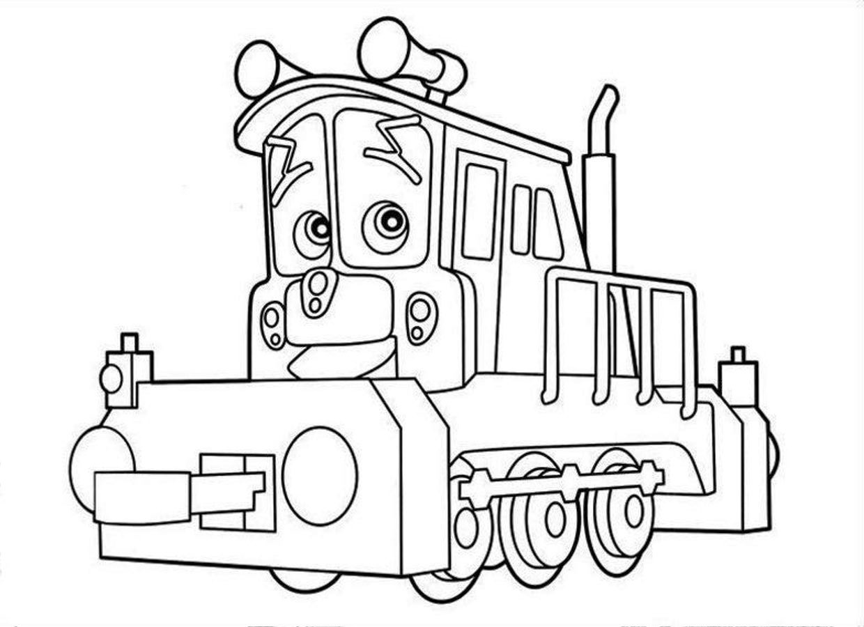 1240x900 Free Printable Chuggington Coloring Pages For Kids