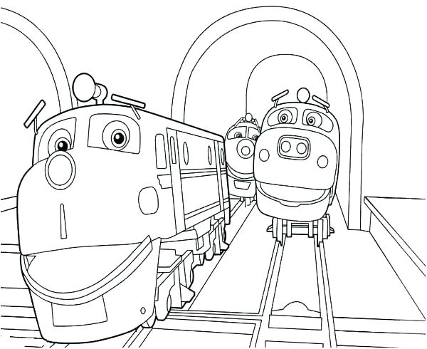 600x490 Kids N Coloring Pages Of Chuggington Coloring Pages Games