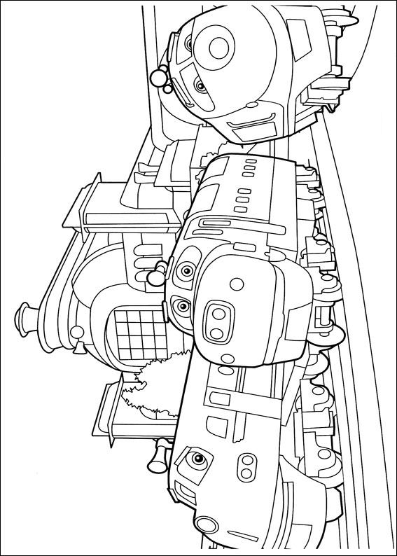 567x794 Kids N Coloring Pages Of Chuggington