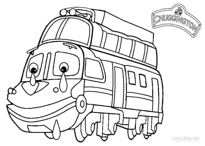 850x607 Printable Chuggington Coloring Pages For Kids Film