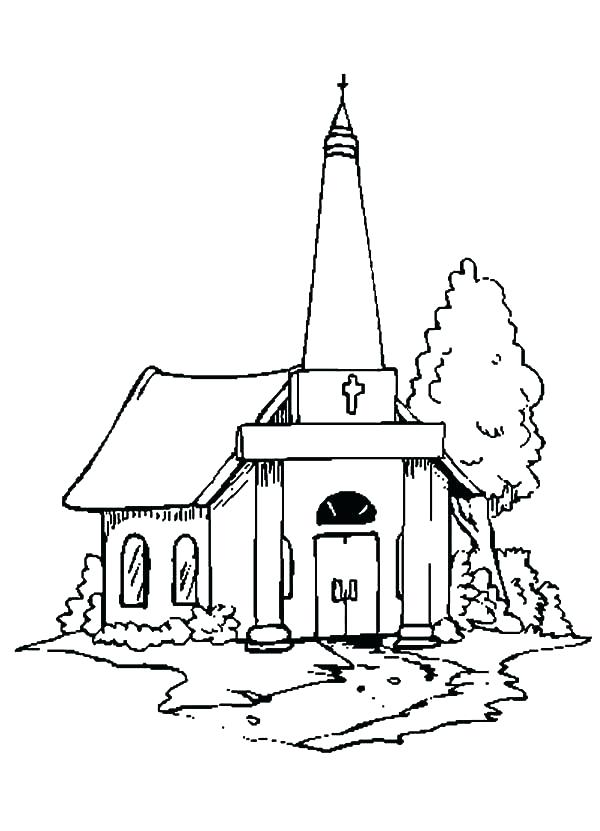 600x831 Lds Church Building Coloring Page Pages Seven Sacraments Sheets