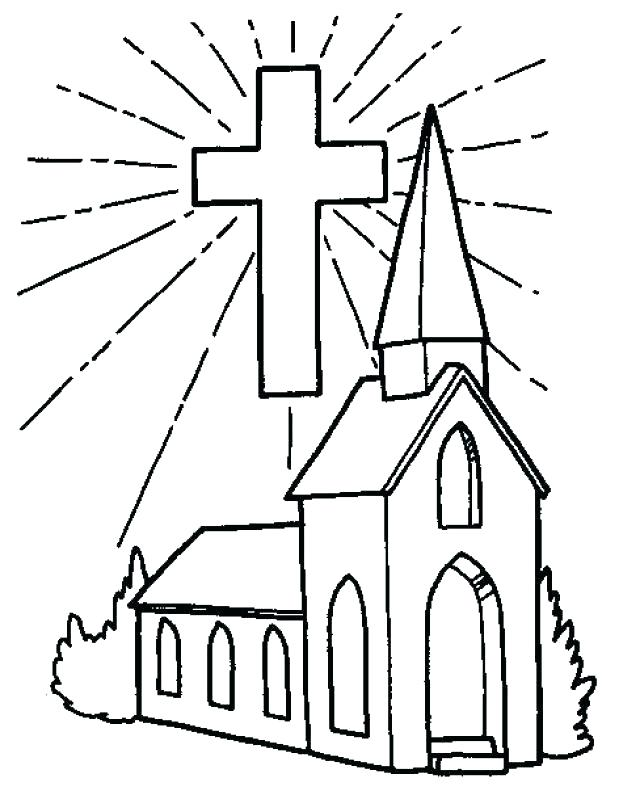 640x795 Building Coloring Page Church Coloring Page Coloring Pages
