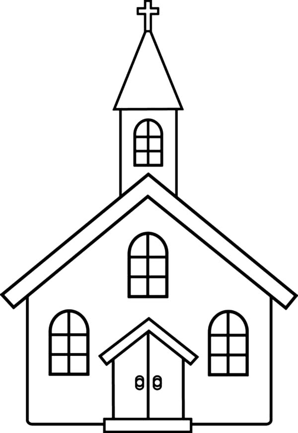 600x871 Church Coloring Pages Educational Coloring Pages