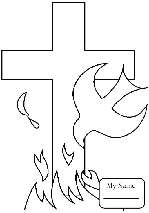 514x734 Church Coloring Pages