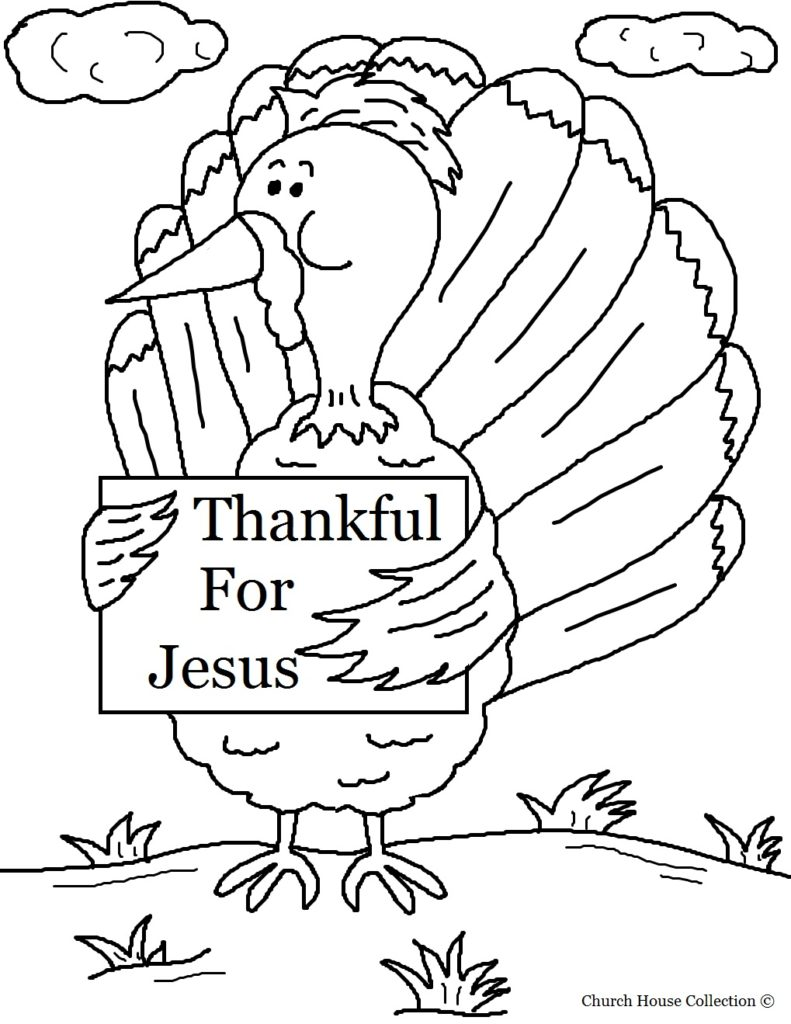 791x1024 Christian Thanksgiving Coloring Pages Printables Church House