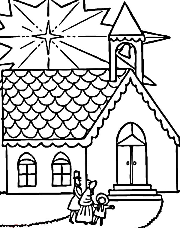 600x760 Christmas Pictures To Color For Church Family Visits Church