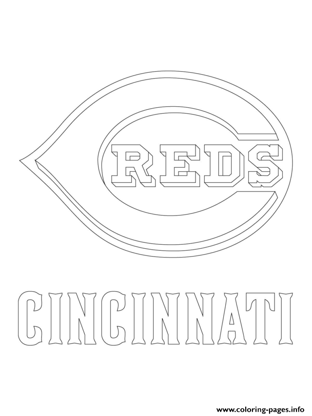 graphic regarding Cincinnati Reds Printable Schedule known as Cincinnati Reds Coloring Internet pages at  Absolutely free for