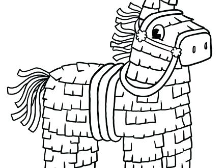 440x330 Cinco De Mayo Pinata Coloring Pages Kids Celebrate Mayo Coloring