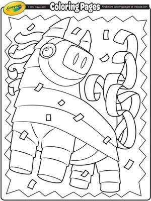 Cinco De Mayo Coloring Pages Free