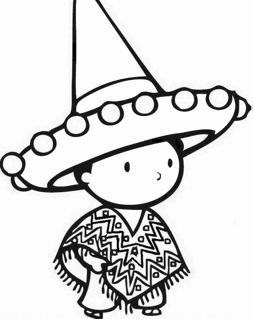 858x1080 Cinco De Mayo Coloring Pages For Girls Sweet Draw Print Pleasing