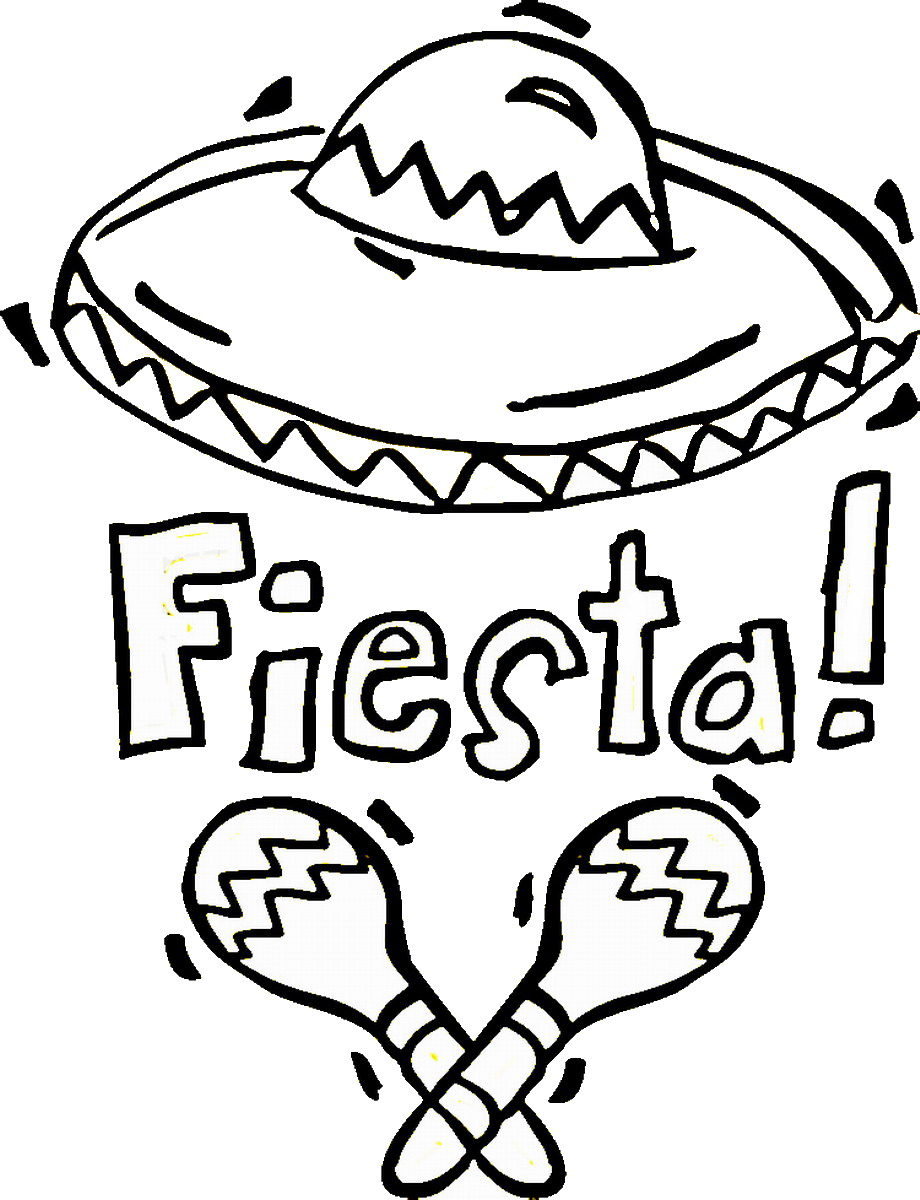 Cinco De Mayo Coloring Pages To Print at GetDrawings.com ...