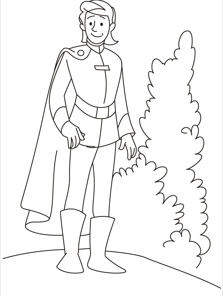 Cinderella And Prince Coloring Pages At Getdrawings Com Free For