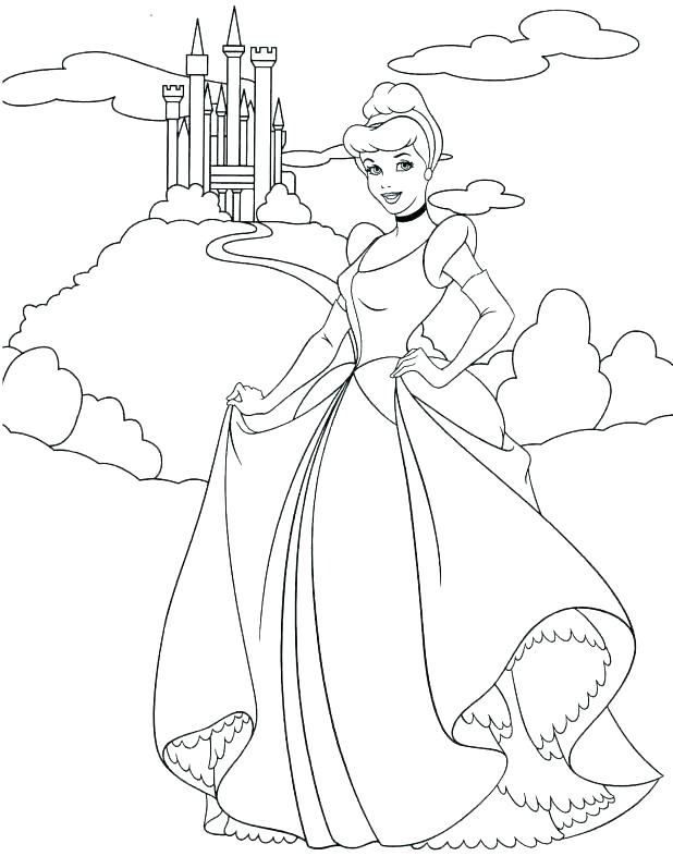 618x786 Cinderella Coloring Sheet Awesome Coloring Pages Or Color Sheet