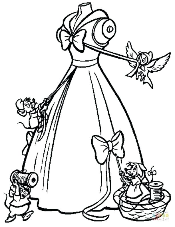 613x794 Cinderella Coloring Sheet Majestic Coach Ball Coloring Page