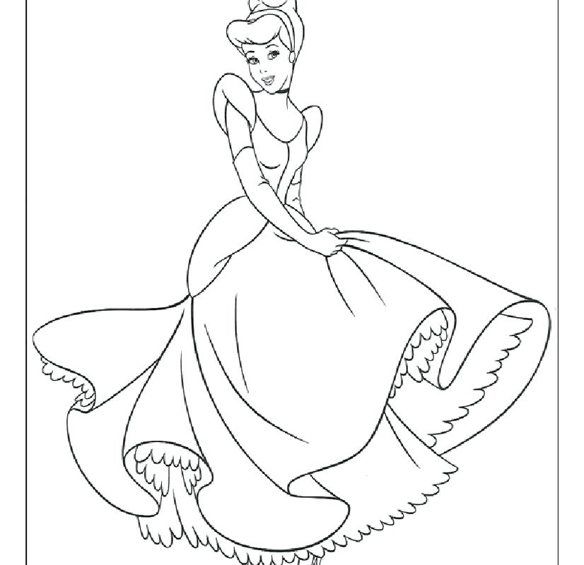 826x800 Cinderella Coloring Pages Disney Color Page Coloring Pages Color