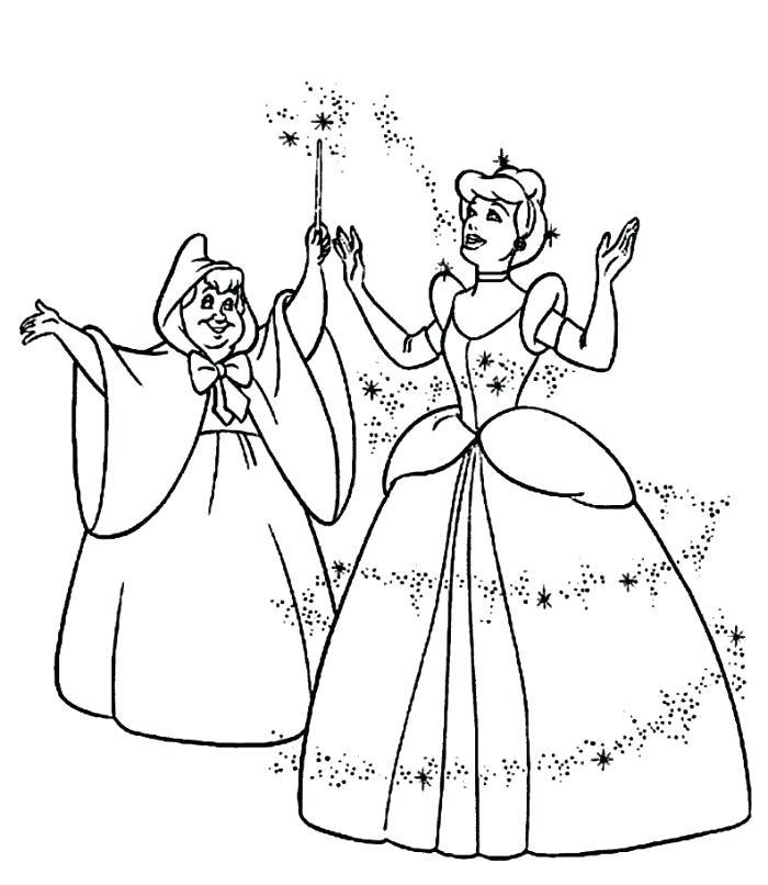 700x806 Coloring Pages Beautiful Coloring Page And Fairy Godmother
