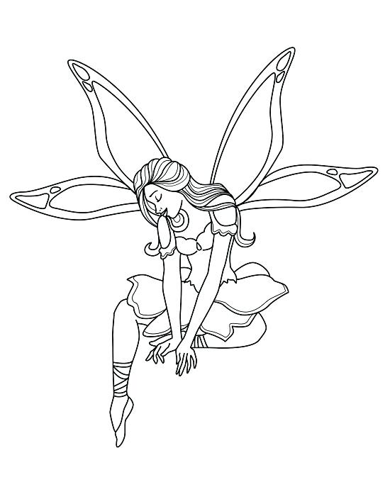 550x711 Coloring Pages Fairies Fairy Coloring Sheets Fairy Godmother