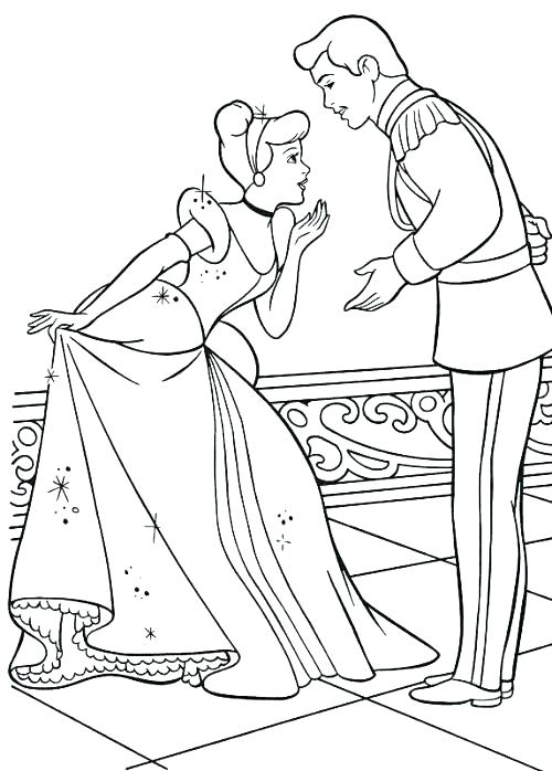 500x698 Glass Slipper Coloring Page Coloring Pages Coloring Pages Online