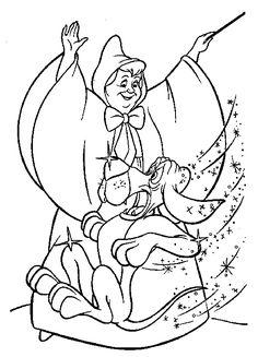 236x327 Cinderella Mice Coloring Pages