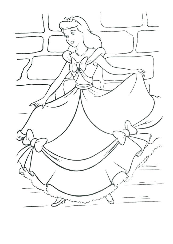 736x1041 Cinderella Mice Coloring Pages