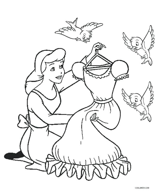 661x800 Cinderella Mice Coloring Pages Cinderella Coloring Pages Disney