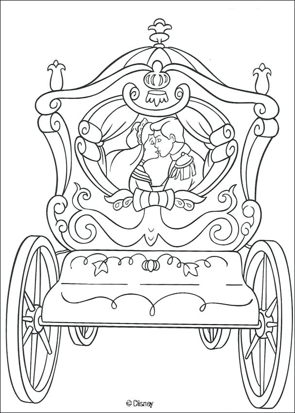 Cinderella Prince Charming Coloring Pages