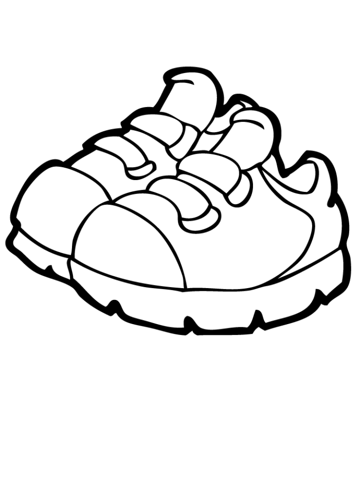 Cinderella Shoe Coloring Pages