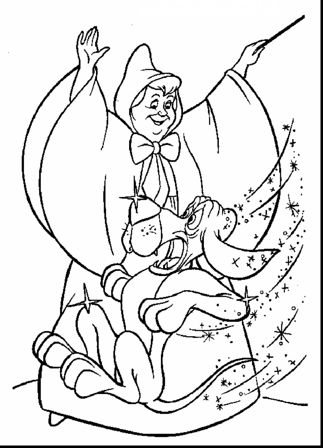 Cinderella Slipper Coloring Pages At Getdrawings Com Free For