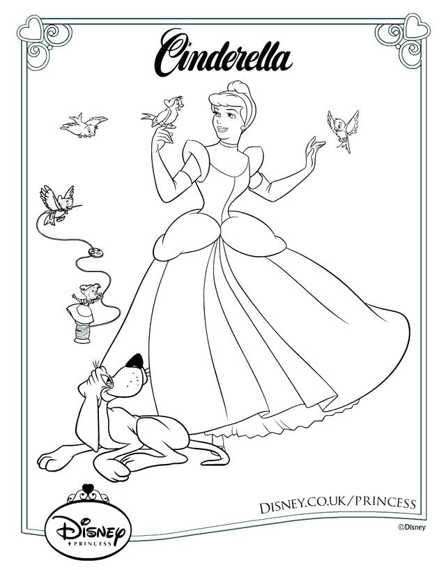 640x817 Cinderella Print Colouring Pages Cinderella Shoe Print Out