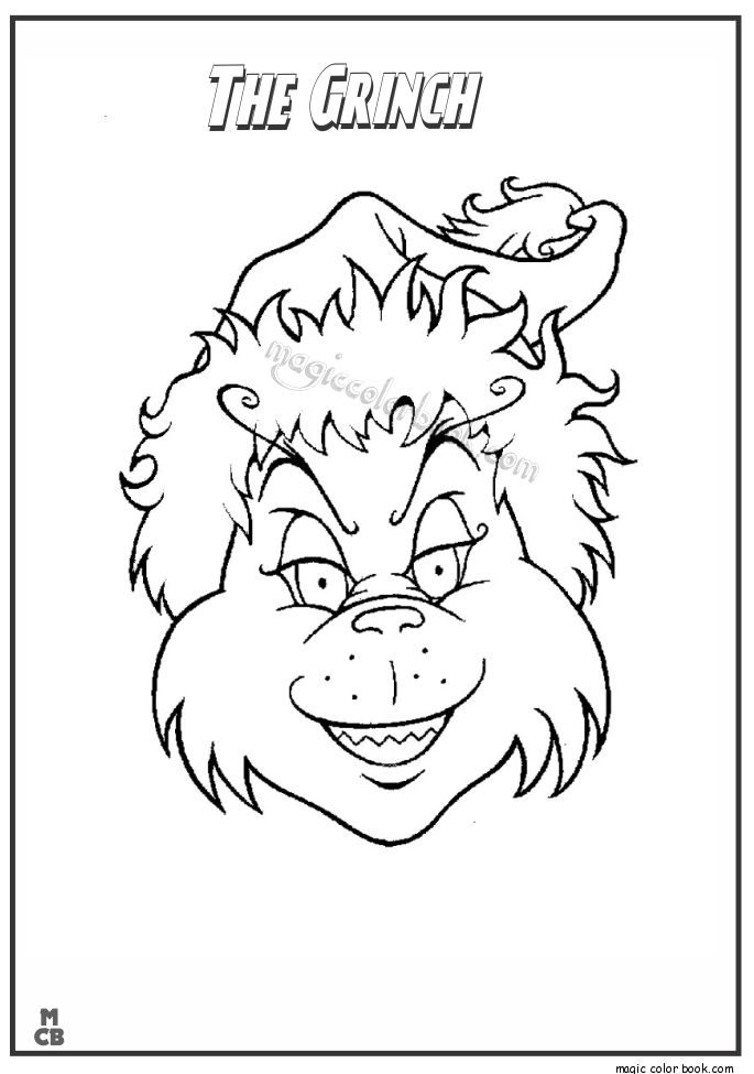 685x975 The Grinch Coloring Pages