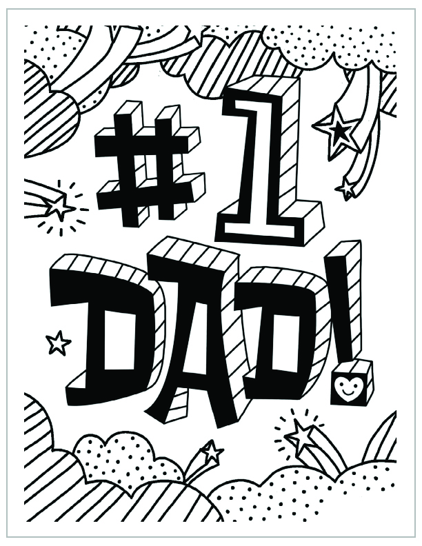 612x792 Father's Day Coloring Pages Hallmark Ideas Inspiration