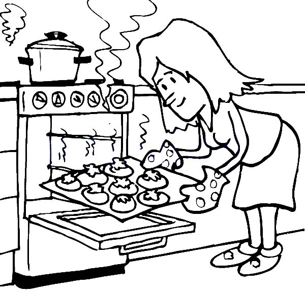600x580 Stone Baked Coloring Pages