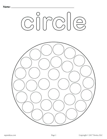 425x550 Circle Coloring Page Circles Coloring Pages Heart Shape Coloring