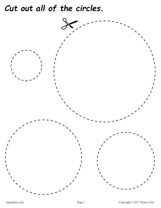 photograph relating to Printable Circles referred to as Circle Coloring Website page at  Cost-free for person