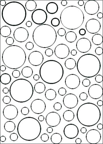 360x504 Exquisite Design Circle Coloring Page Coloring Shapes Letters Etc