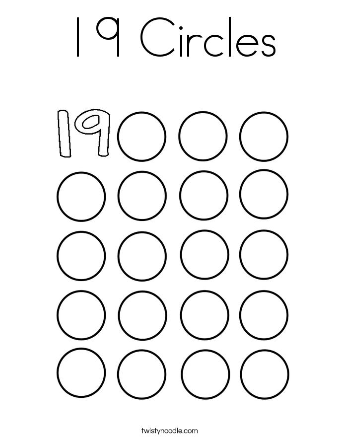 685x886 Circles Coloring Page