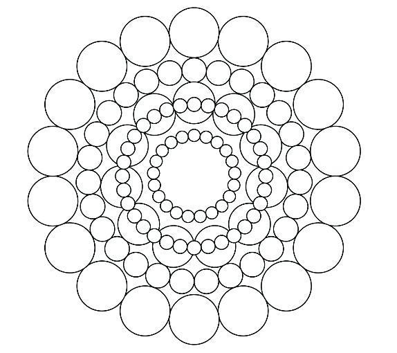 574x510 Circle Coloring Page Circles Coloring Pages Awesome Circle