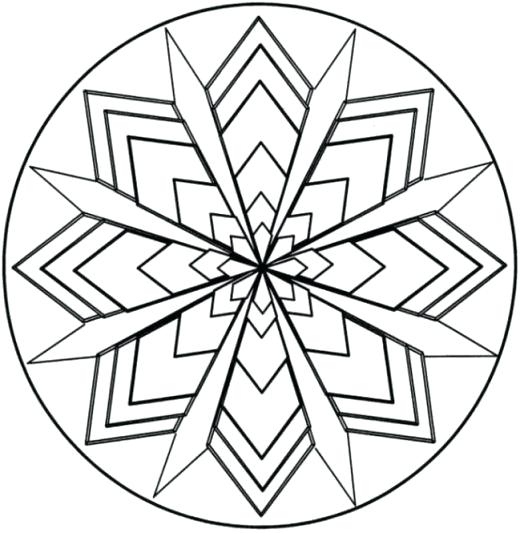 520x533 Coloring Pages Of Patterns Coloring Pages Patterns With Coloring