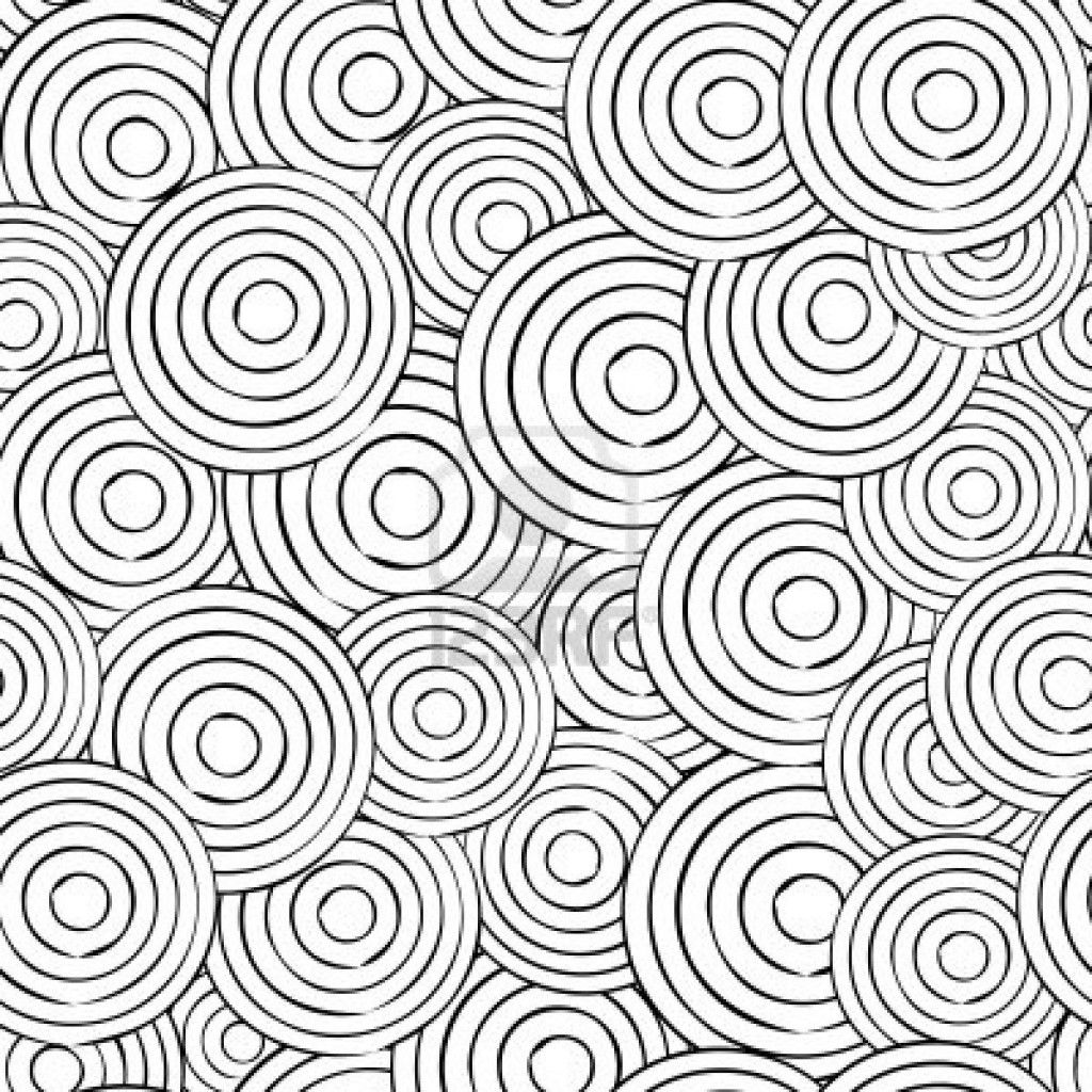 1024x1024 Love Circle Pattern Coloring Pages Advance