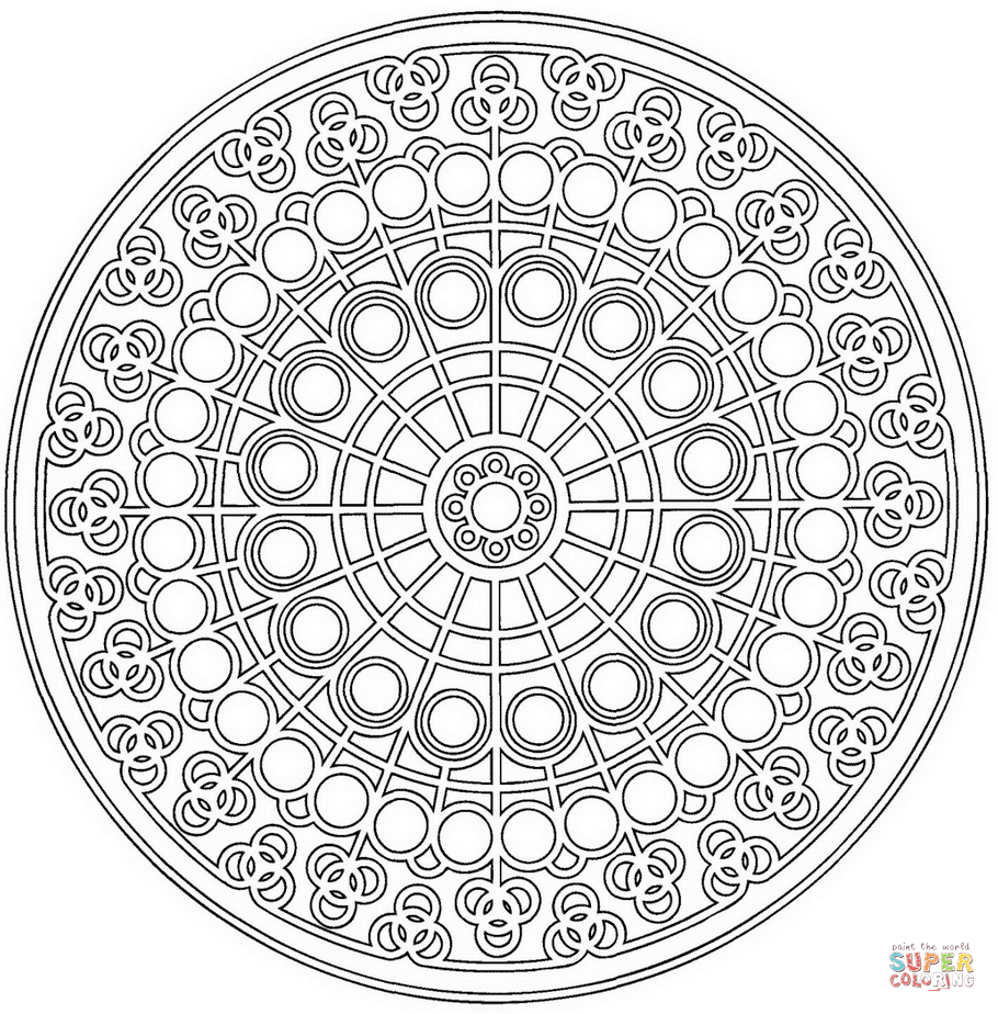 910x924 Perfect Circle Pattern Coloring Pages Celtic M