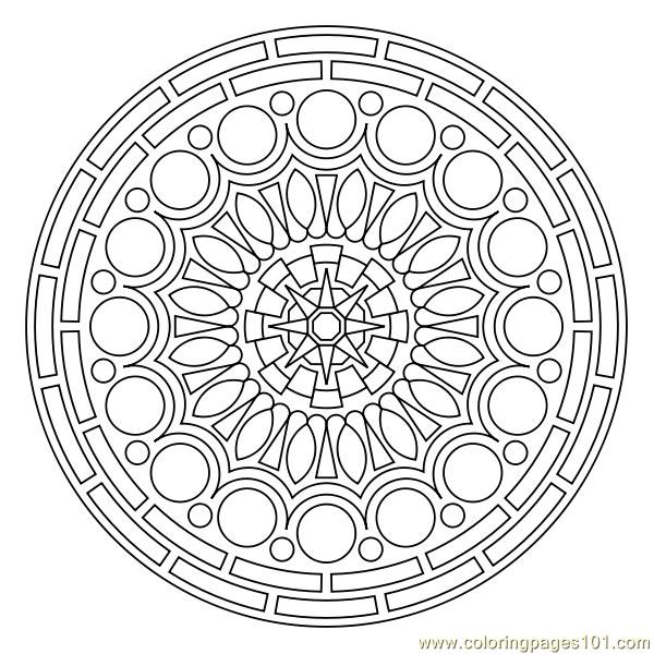 600x600 Circular Coloring Pages Logos For Circle Design Coloring Pages