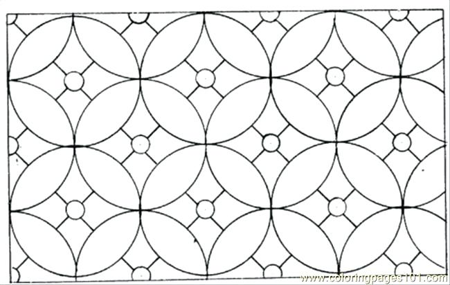 650x412 Circle For Coloring Simple Patterns To Colour Coloring Pages