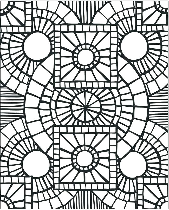 650x809 Patterns Coloring Pages Coloring Pattern Pages Mosaic Patterns