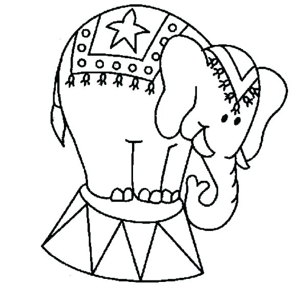 600x558 Circus Coloring Pages Circus Coloring Page Circus Coloring Pages