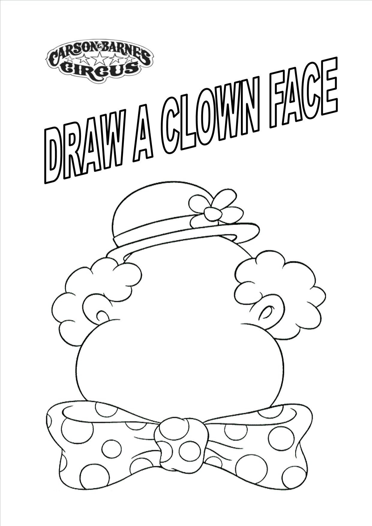 1240x1754 Circus Coloring Sheets Pages For Preschool Qqa