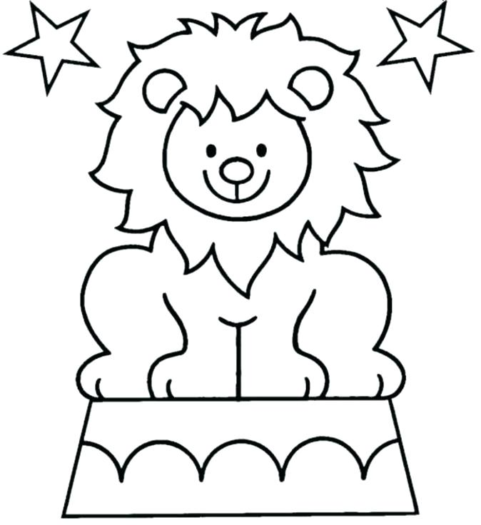 674x736 Drum Coloring Pages Free Circus Coloring Pages Circus Lion
