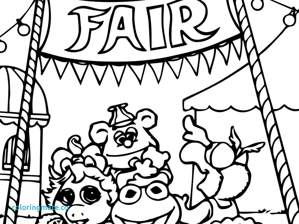 1024x768 Circus Coloring Pages For Preschool Beautiful Mcoloring
