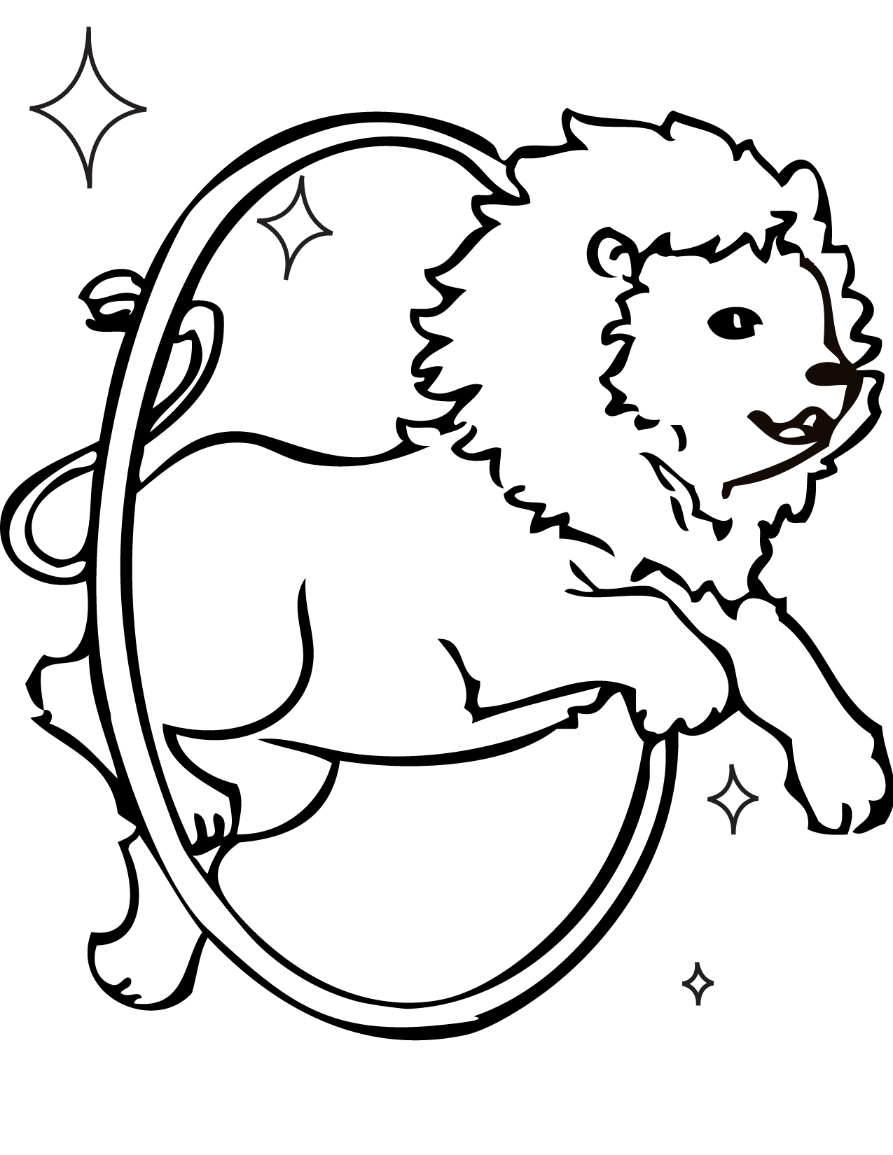 1275x1650 Circus Coloring Pages For Preschool Print The Vintage Item