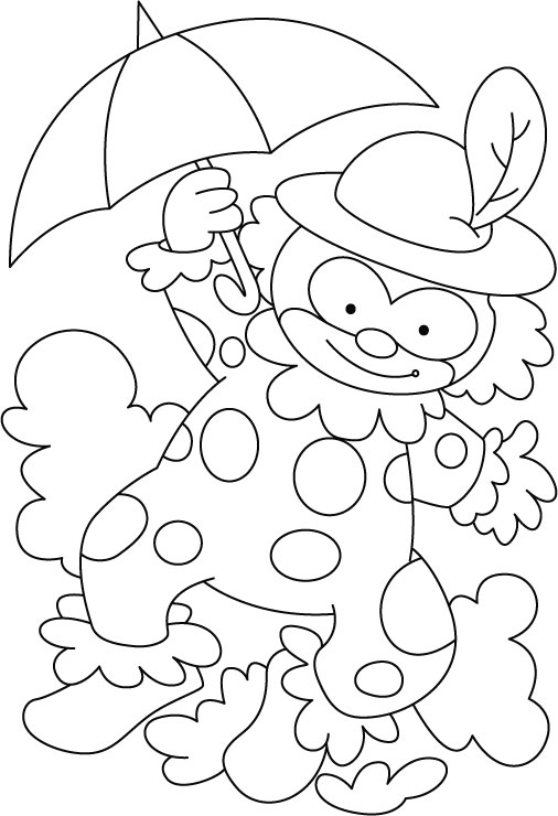 506x740 Circus Coloring Pages For Preschool Circus Coloring Page Download