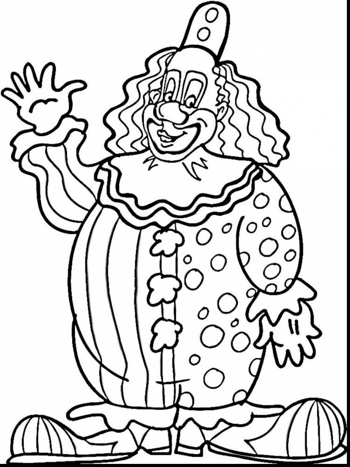 1126x1503 Circus Coloring Pages To Download And Print For Toddler Free